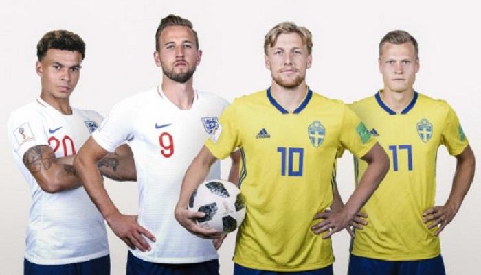 Preliminares Inglaterra vs Suecia