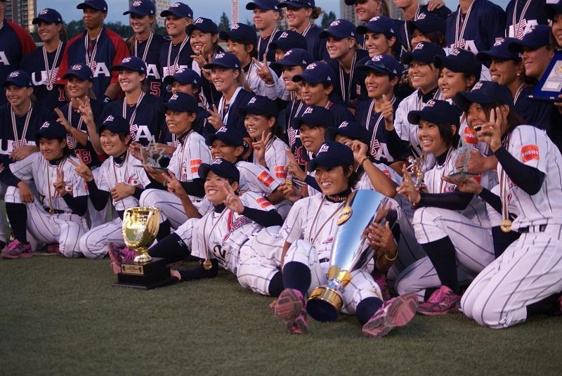 Equipo femenino de beisbol Japón