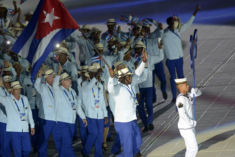 Central American and Caribbean Games open in Colombia