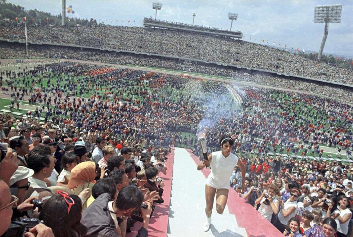 Juegos Olimpicos De Mexico 1968 Ardera La Antorcha 50 Anos Despues