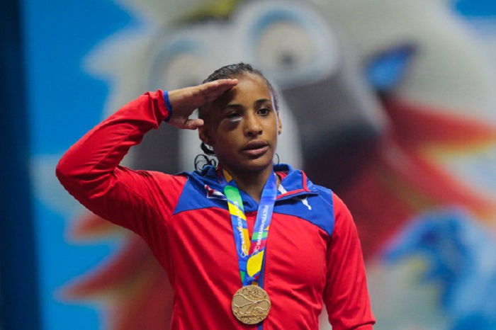 Lianna Montero, luchadora cubana
