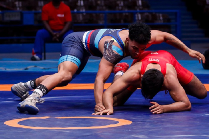 Cuban Gregorich wins silver medal in World U23 Wrestling Championships