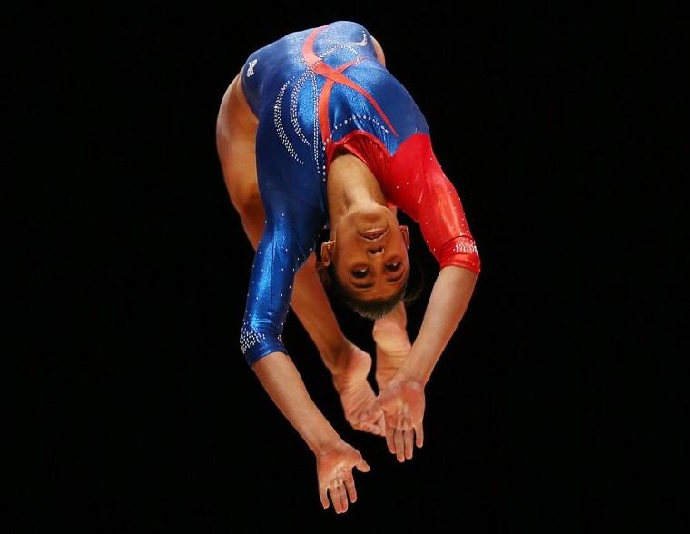Marcia Vidiaux, nueva campeona del all around
