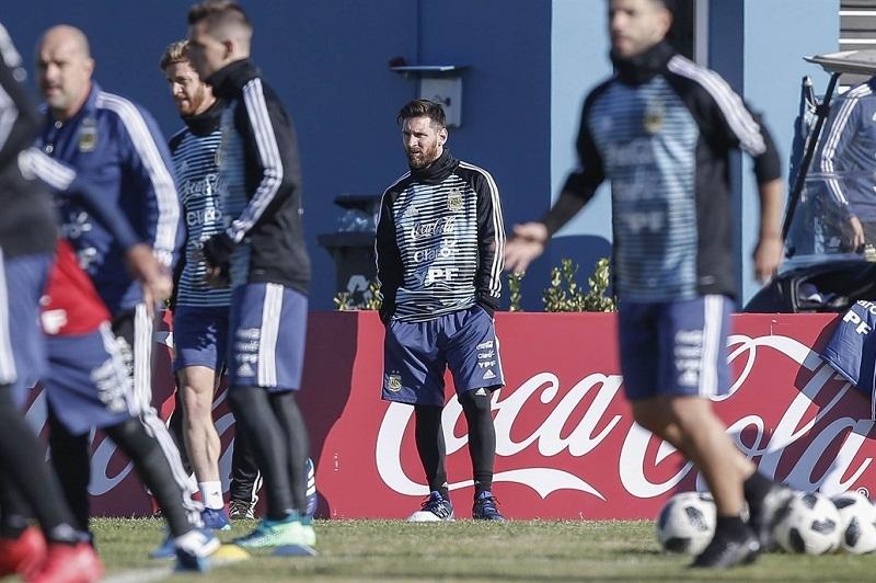 Llegó Messi a Argentina para entrenar con la Selección (+Video)