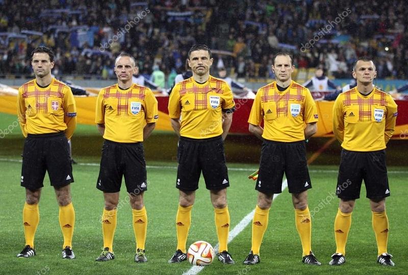 Milorad Mažić, árbitro de la final de la Champions League
