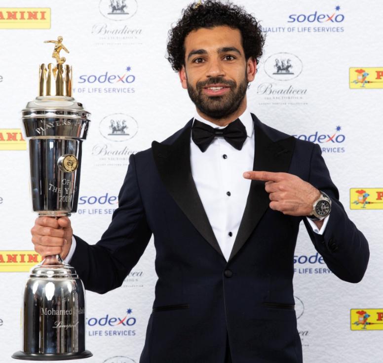 Nombrado Salah mejor jugador de la Premier