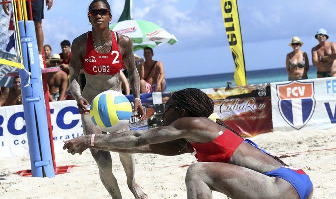 Leila y Maylen avanzan a semifinales en el Voley de Playa