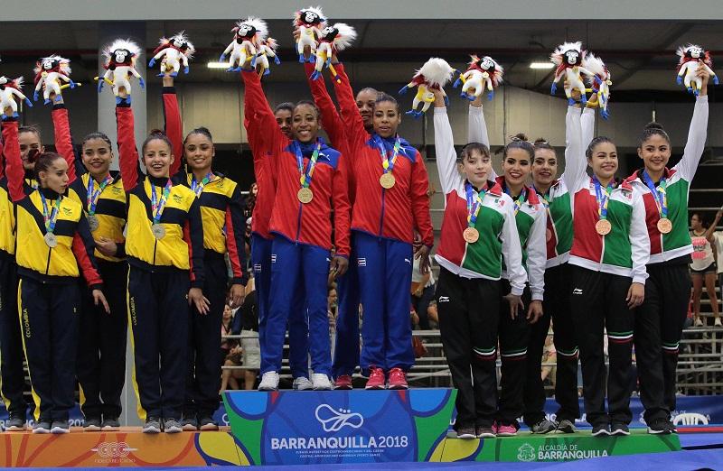 Oro para las cubanas en Gimnasia Artística