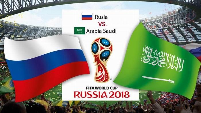 Rusia y Arabia Saudita: los equipos que inauguran el Mundial
