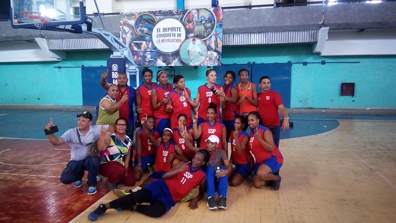 Sancti Spíritus, nuevo campeón del basket femenino