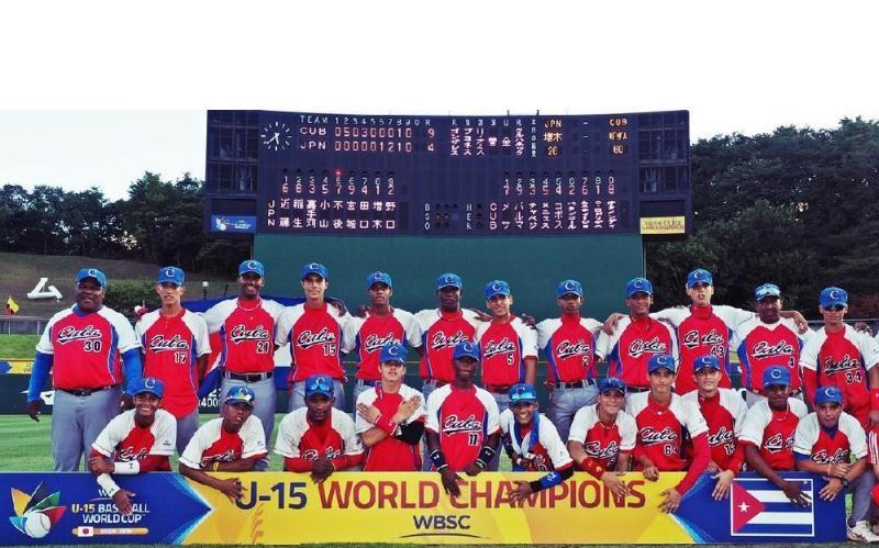 Obtiene Cuba primera victoria en Mundial de Béisbol Sub-15