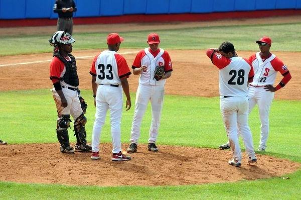 Tres invictos en la V Serie Sub 23 de béisbol