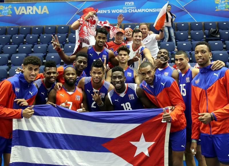 Sexto día del mundial de Voleibol: Miguel David, lo mejor por Cuba