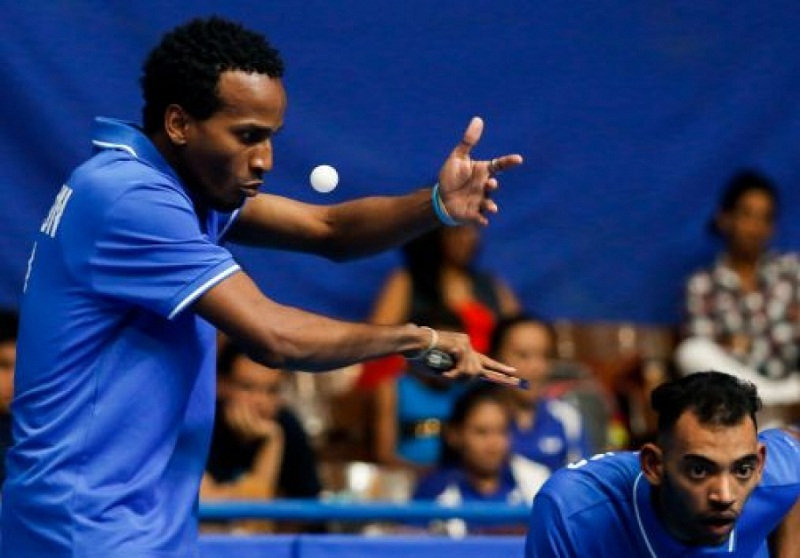 Tenis de Mesa: Cubanos dan guerra en el Coliseo (+Audio)