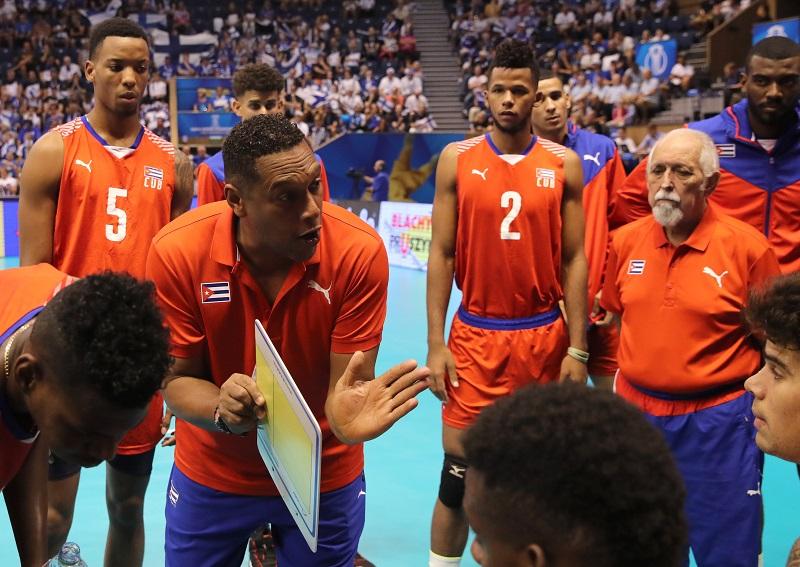 Tercer día del mundial de Voleibol: Cuba con un pie fuera