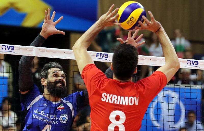 Todor Skrimov, máximo anotador de Bulgaria en el campeonato. Foto:FIVB