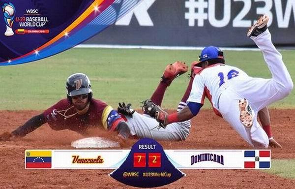 Venezuela derrotó a República Dominicana 7x2