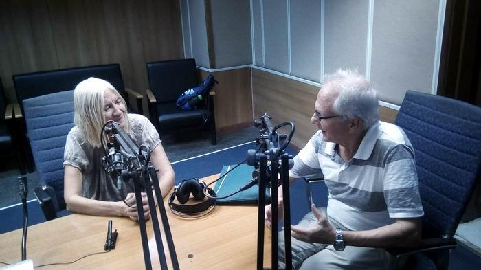 La primera Gran Maestra (GM) del ajedrez femenino cubano Vivian Ramón Pita, visitó este miércoles los estudios de Radio Rebelde