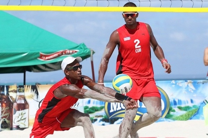 Cuban beach volleyball duo wins in Dominican Republic