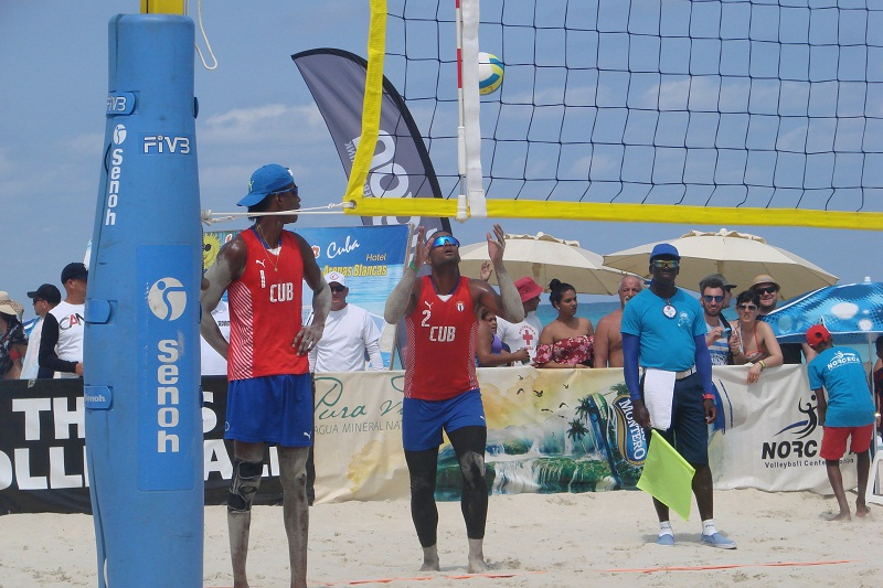 Cuban Duo wins Twice in 2018 Beach Volleyball World Tour