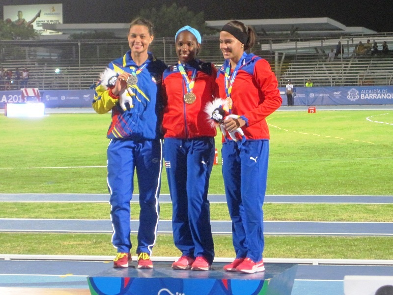 Cuba Wins 10 Gold Medals in Track and Field at Central American