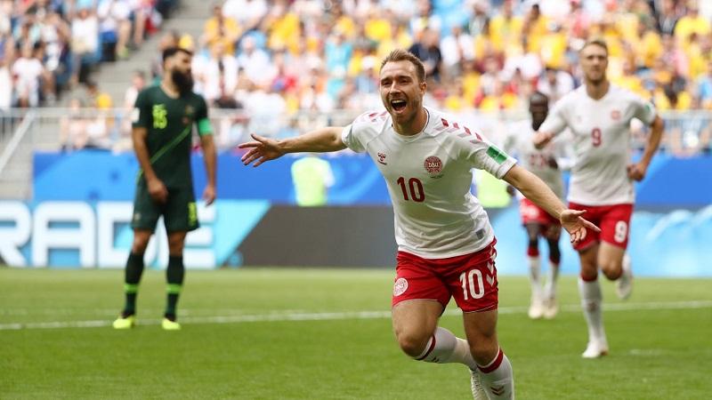 Dinamarca empata ante Australia
