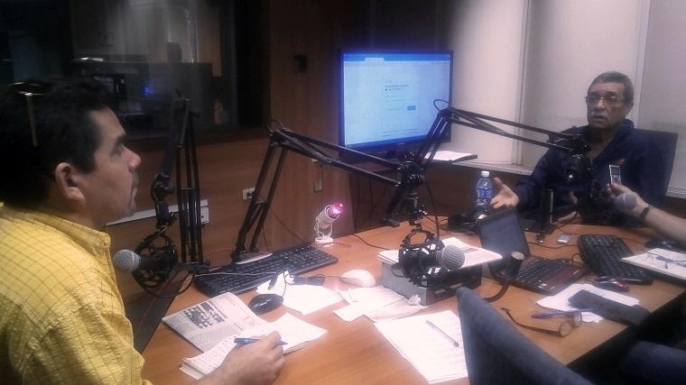 Director del Marabana visita los estudios de Radio Rebelde