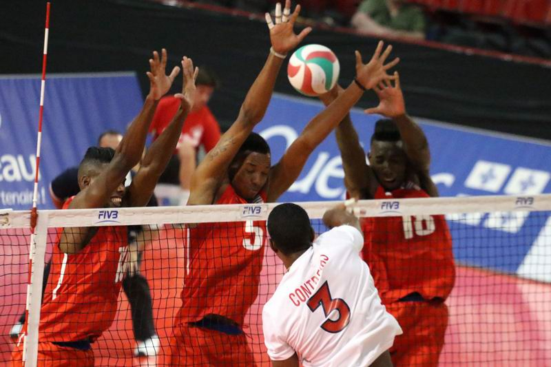 Cuba beats the Dominican Republic in the NORCECA Men´s Pan American Cup