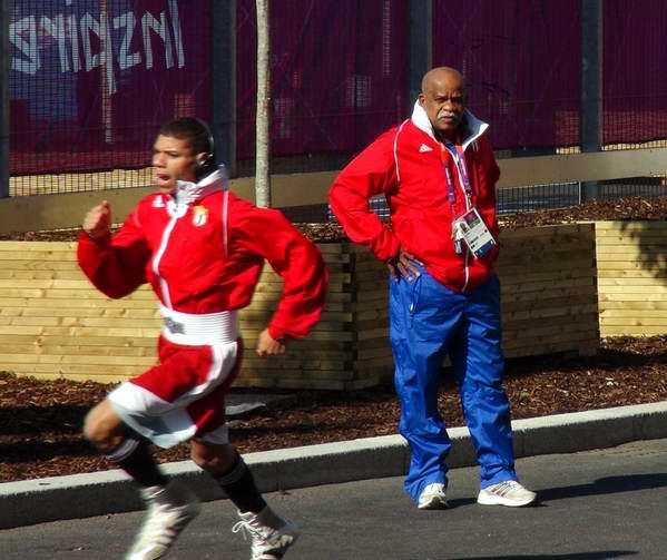 El Capitán de la formación cubana de boxeo, Julio César La Cruz, no dudó al afirmar que «el equipo está bien y preparándose en buenas condiciones para enfrentar con éxito los Juegos Olímpicos