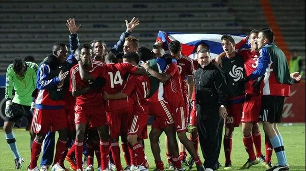 Cuba afronta con optimismo participaci�n en la Copa Mundial de f�tbol