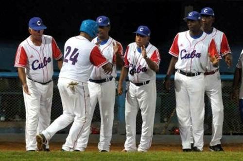 Vence Cuba a Australia 5X3 en tope previo a III Clásico Mundial. Foto:  AIN