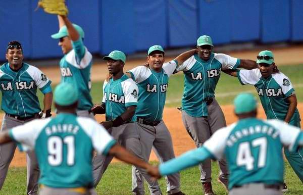 Piratas empatan la Gran Final del Beisbol cubano. Foto Marcelino Vázquez