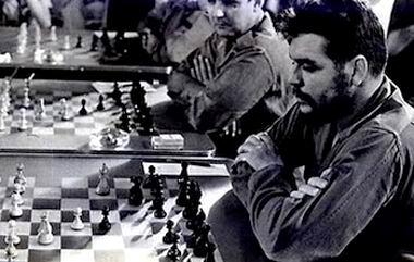 El ajedrez fue una de las pasiones deportivas del Guerrillero.