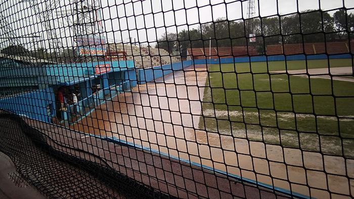 Suspenden por lluvia quinto juego de la Semifinal Granma-Matanzas (+Audio)