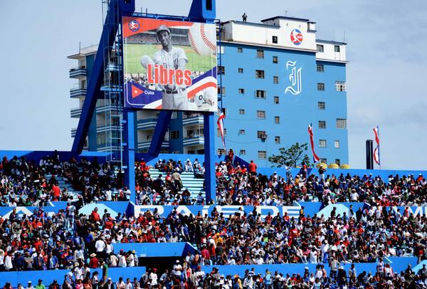 Estadio Latinoamericano, en La Habana, Cuba.Foto: Marcelino Vázquez