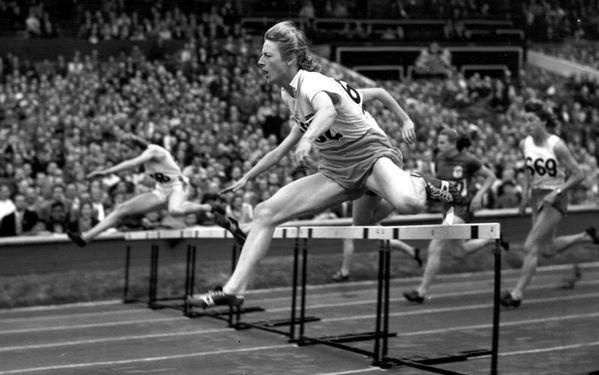 Fanny Blankers-Koen al Salón de la Fama de la IAAF