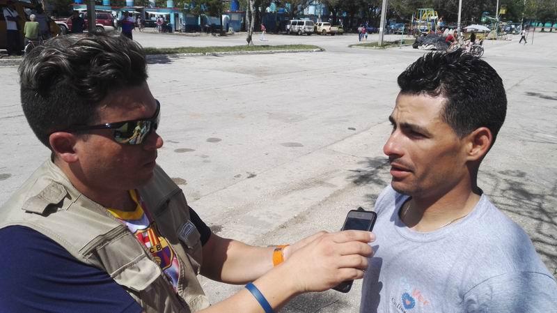 Felix Nodarse, registró un crono de 3 horas, 32 minutos y 54 segundos. Foto: Guillermo Rodríguez Hidalgo-Gato