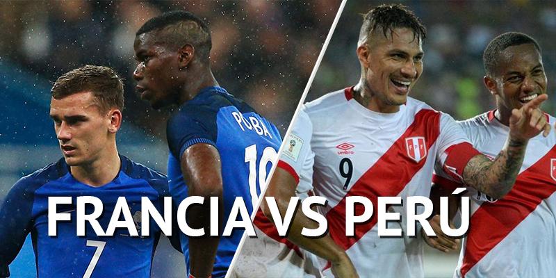 Previa Francia vs. Perú