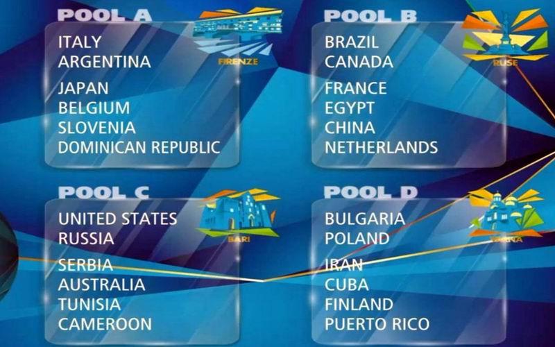 Cuba ya conoce su calendario para el Campeonato Mundial de Voleibol 2018