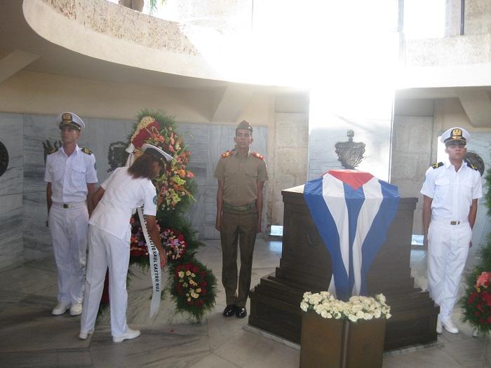 Homenaje a Martí en el día de las FAR (+Audio)