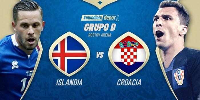 Previa Islandia vs Croacia