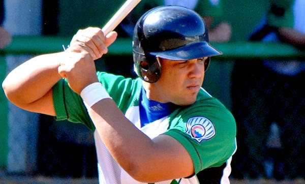 El inicialista José Dariel Abreu es puntero entre los bateadores de Cuba con 584 unidades