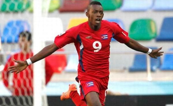 La selección cubana de fútbol que enfrenta a Islas Turcas y Caicos