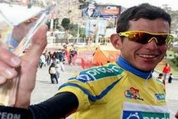 El pedalista venezolano se impuso en la cuarta etapa de la Vuelta Ciclística al Táchira, tras registrar tiempo de 2 horas, 7 minutos y 45 segundos