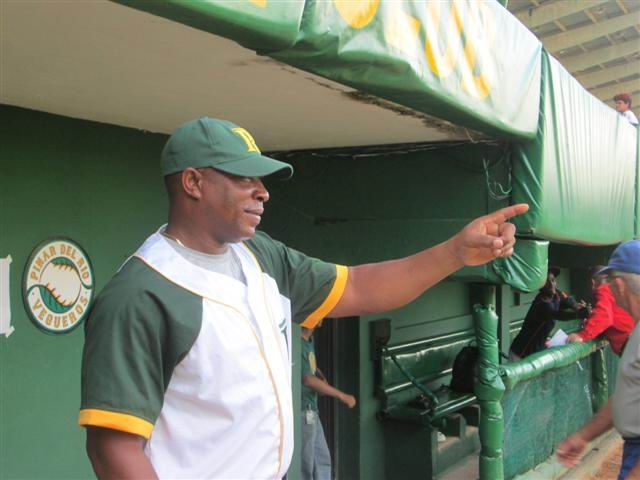 Jorge Ricardo Gallardo, director del equipo de béisbol de Pinar del Río