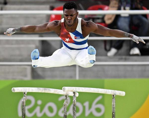 Sobresale Manrique Larduet por Cuba en Gimnasia Artística de cita olímpica