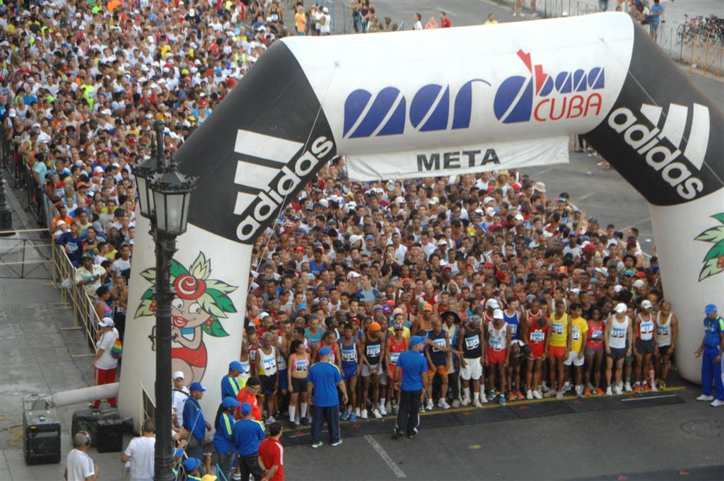 Marabana por los 500 de la capital cubana