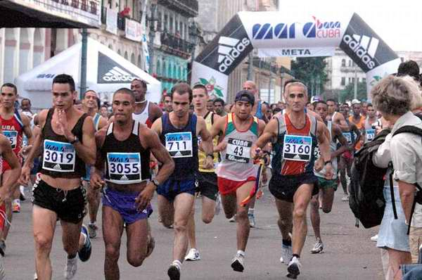 Cuba, líder en carreras populares