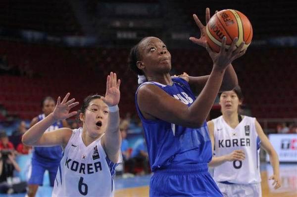 Vence Cuba a Corea del Sur en mundial de baloncesto femenino
