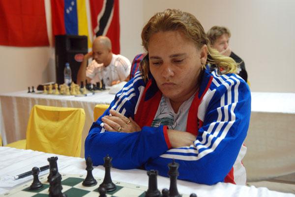Maritza Arribas: once veces campeona nacional de ajedrez